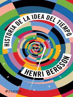 cover image of Historia de la idea del tiempo