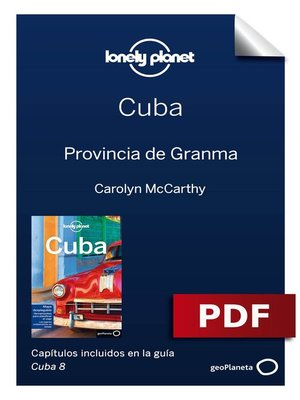 cover image of Cuba 8_14. Provincia de Granma