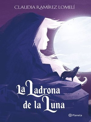 cover image of La ladrona de la luna