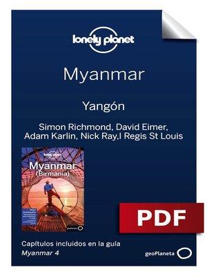 cover image of Myanmar 4. Yangón
