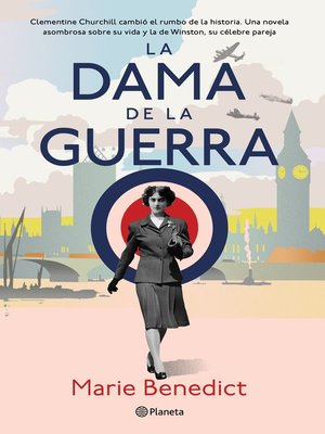 cover image of La dama de la guerra