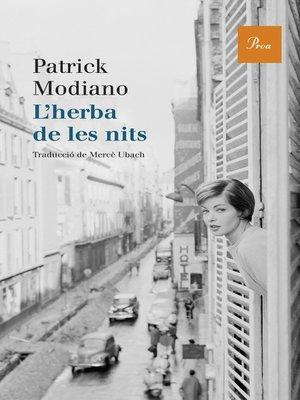 cover image of L'herba de les nits