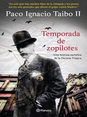 cover image of Temporada de zopilotes
