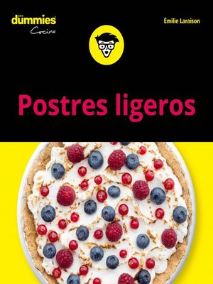 cover image of Postres ligeros para Dummies