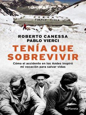 cover image of Tenia que sobrevivir