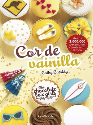 cover image of The Chocolate Box Girls. Cor de vainilla
