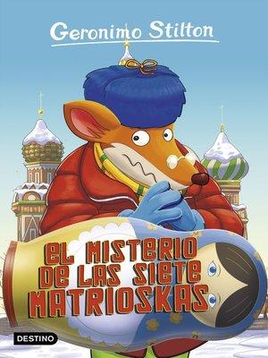 cover image of El misterio de las siete matrioskas