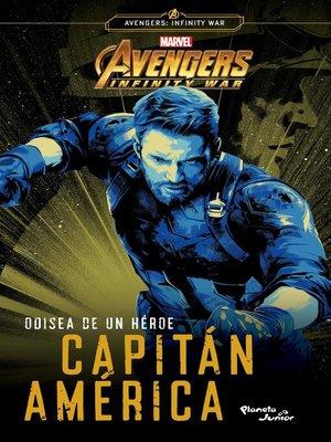 cover image of Odisea de un héroe. Capitán América