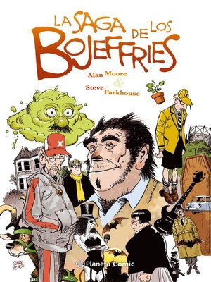 cover image of La saga de los Bojeffries