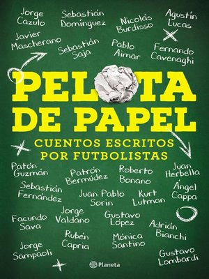 cover image of Pelota de papel
