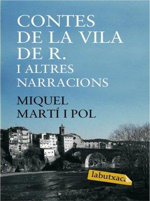 cover image of Contes de la vila de R. i altres narracions