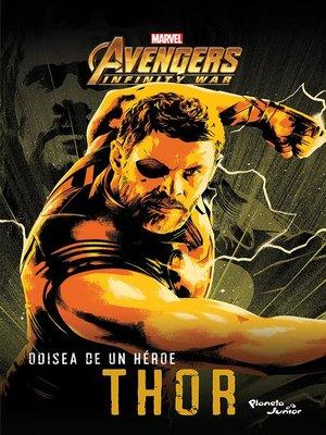 cover image of Odisea de un héroe. Thor