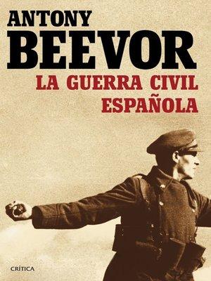 cover image of La guerra civil española