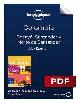 cover image of Colombia 4_3. Bocayá, Santander y Norte de Santander