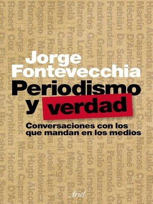 cover image of Periodismo y verdad