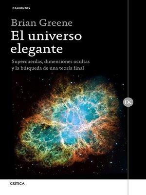 cover image of El universo elegante