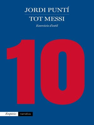 cover image of Tot Messi