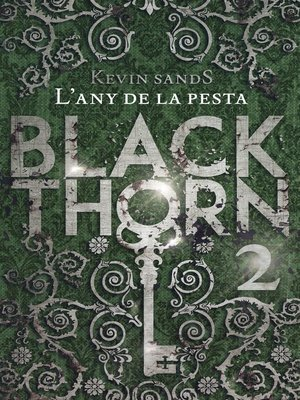 cover image of Blackthorn. L'any de la pesta
