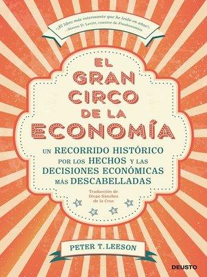 cover image of El gran circo de la economía
