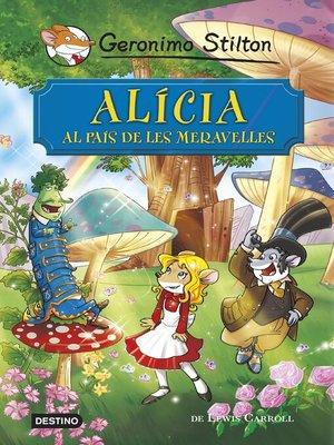 cover image of Alícia al país de les meravelles