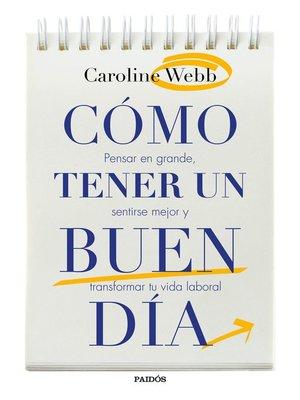 cover image of Cómo tener un buen día