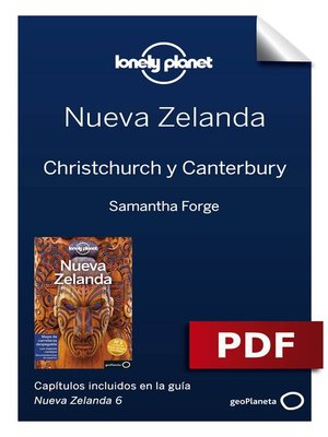cover image of Nueva Zelanda 6_12. Christchurch y Canterbury