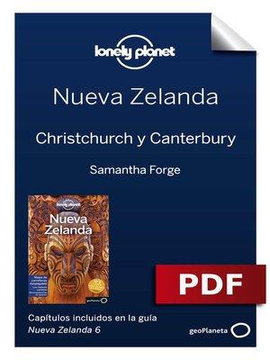 cover image of Nueva Zelanda 6_12. Christchurch y Canterbury