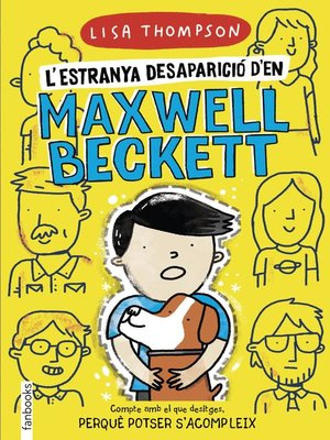 cover image of L'estranya desaparició d'en Maxwell Beckett