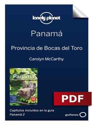 cover image of Panamá 2_8. Provincia de Bocas del Toro