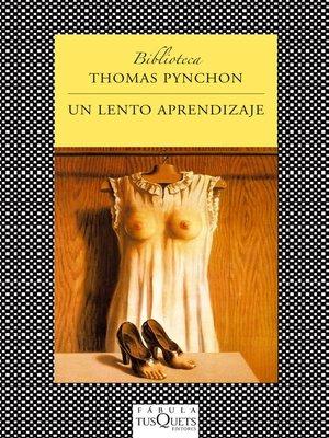 cover image of Un lento aprendizaje