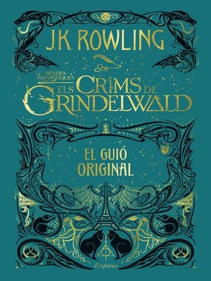 cover image of Els crims de Grindelwald