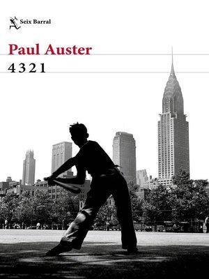 cover image of 4 3 2 1 (Versión española)