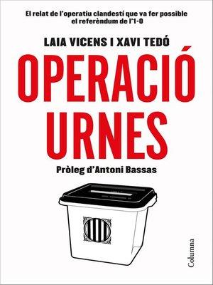 cover image of Operació Urnes