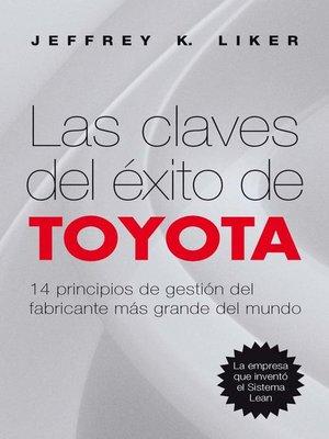 cover image of Las claves del éxito de Toyota