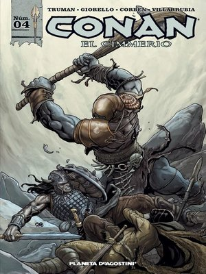 cover image of Conan el cimmerio nº 04/17