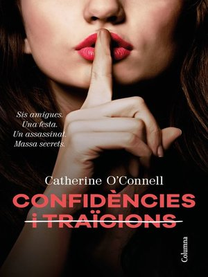 cover image of Confidències i  traïcions