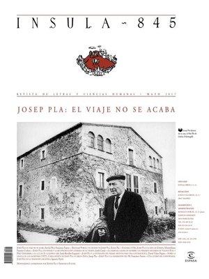 cover image of Josep Pla: el viaje no se acaba