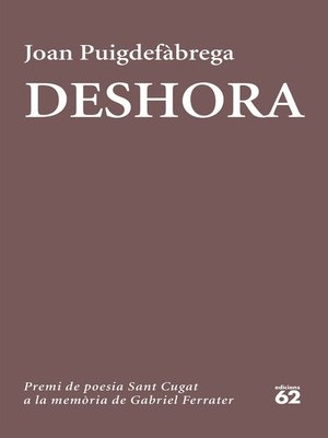 cover image of Deshora