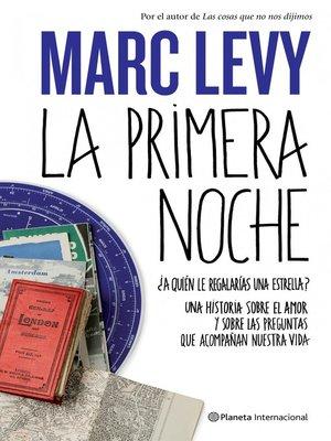 cover image of La primera noche