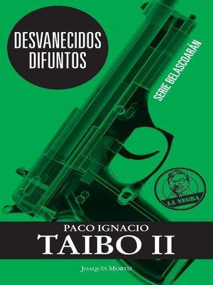 cover image of Desvanecidos difuntos
