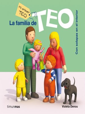 cover image of La familia de Teo (ebook interactivo)