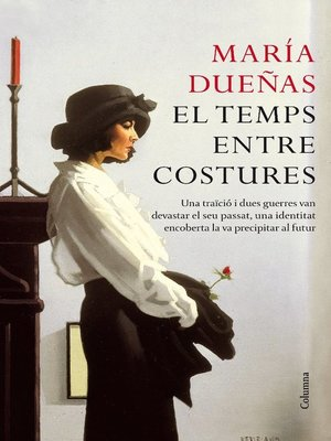 cover image of El temps entre costures