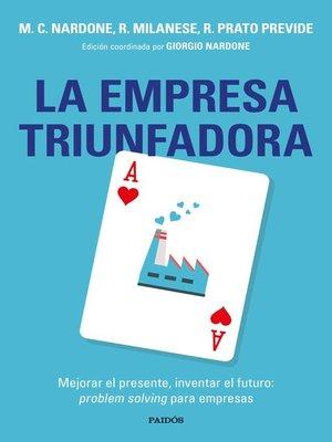cover image of La empresa triunfadora