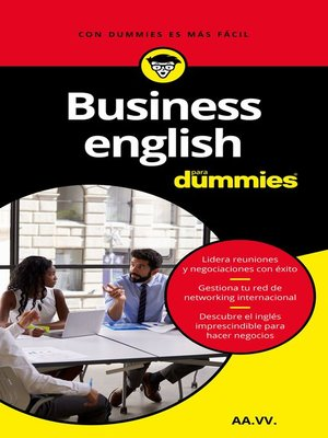 cover image of Business English para Dummies (Pack)