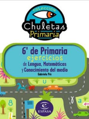 cover image of 6º de Primaria fácil. Libro de Ejercicios