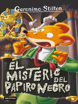 cover image of El misterio del Papiro Negro