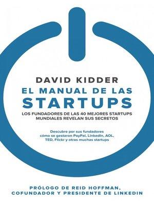 cover image of El manual de las startups
