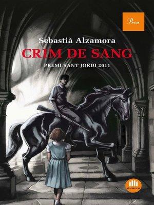 cover image of Crim de sang