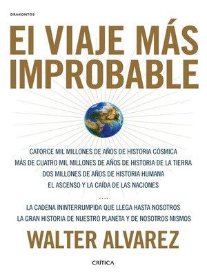 cover image of El viaje más improbable