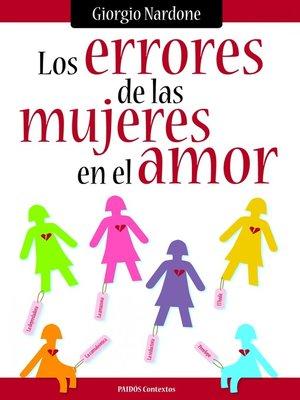 cover image of Los errores de las mujeres (en el amor)